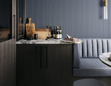 Banquette seatiing Woollahra